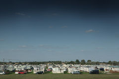 View of caravan park at St Osyth, England Stock Image