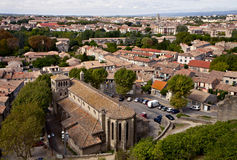 View of Carcassonne, France Stock Images