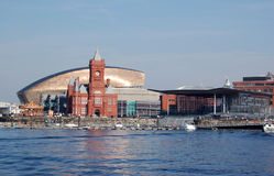 View of Cardiff Bay Stock Photos