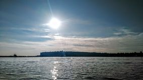 View of Cardiff Bay royalty free stock image
