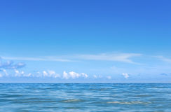 View of the caribbean ocean in Cuba - Serie Kuba 2016 Reportage Stock Photography