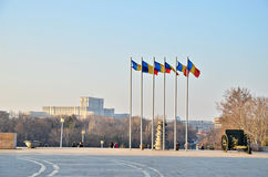 Bucharest view Royalty Free Stock Images