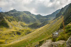 View of Carpathian Fagaras Mountains Royalty Free Stock Images