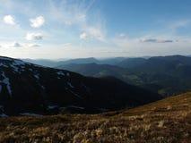 View of the Carpathian Mountains Stock Photos