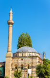 View of Carshi Mosque in Pristina Royalty Free Stock Images