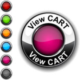 View cart  button. Stock Images