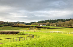 View of Cartmel Racecourse Royalty Free Stock Photo