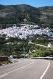 View of Casarabonela, Spain. Stock Photos