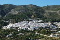 View of Casarabonela, Spain. Royalty Free Stock Photo