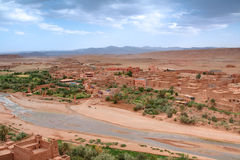 View from Casbah Ait Benhaddou Stock Image