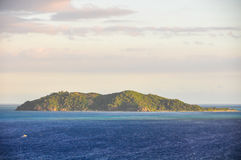 View of Castaway Island in Fiji Stock Images