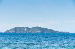 View of Castaway Island in Fiji Stock Photography