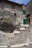 Castel di Tora city, near Rieti, characteristic building Stock Image