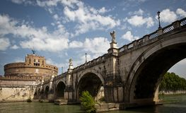 View of the Castel Sant'Angelo Royalty Free Stock Image