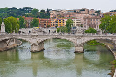 View from Castel Sant Angelo Stock Photo