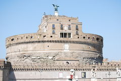 View of Castel Sant Angelo in Rome, Italy Stock Photo