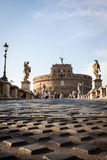 View of Castel Sant'Angelo, Rome, Italy Stock Photos