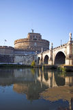 View of Castel Sant'Angelo in Rome Stock Photo