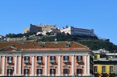 View of Castel Sant'Elmo, Naples Stock Images