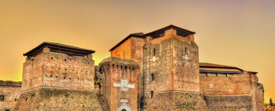 View of Castel Sismondo in Rimini Royalty Free Stock Photography
