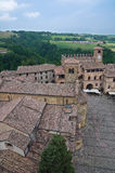 View of Castell'arquato. Emilia-Romagna. Italy. Stock Images