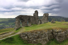 Castell Dinas Bran Stock Photos