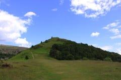 Castell Dinas Bran Stock Image