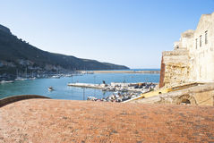 View of Castellammare del Golfo Stock Images