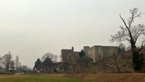 View of Castello del Catajo Cataio, Padua stock photo