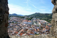 View of Castelo de Vide Royalty Free Stock Image