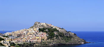 View of Castelsardo Stock Photography