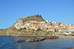 View of Castelsardo Stock Photos