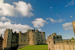A view of the castle Royalty Free Stock Photo