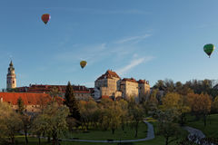 View of castle of Cesky Krumlov Royalty Free Stock Images