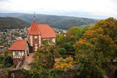 View from the Castle at Dilsberg Stock Photos