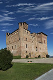 View of the Castle of Grinzane Cavour Unesco heritage Stock Photo