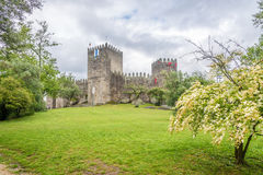 View at the Castle of Guimaraes - Portugal Stock Images
