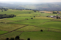 View from Castle Hil  Huddersfield Fields 2 Royalty Free Stock Images