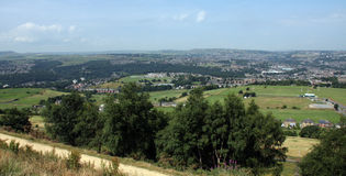 View from Castle Hil  Huddersfield 12 Royalty Free Stock Images