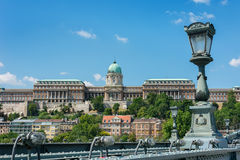 View of Castle Hill Budapest Stock Photos
