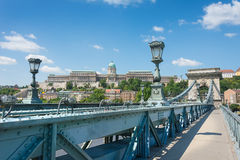 View of Castle Hill Budapest Stock Photography