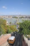 View from Castle Hill,Budapest,Hungary Royalty Free Stock Photography