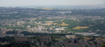 View from Castle Hill Huddersfield 2 Stock Photos