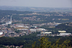 View from Castle Hill Huddersfield 5 Stock Image