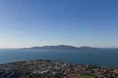 View from Castle Hill in Townsville, Australia Royalty Free Stock Photos