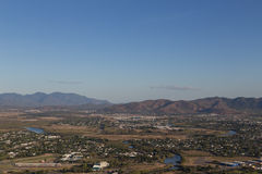 View from Castle Hill in Townsville, Australia Stock Photo
