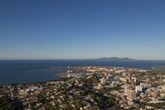 View from Castle Hill in Townsville, Australia Royalty Free Stock Photography