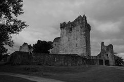 View of the castle in killarney Royalty Free Stock Photo