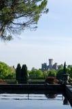 View of the castle park Sigurtà, Verona, Veneto Royalty Free Stock Photos