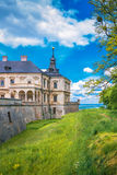 View of the castle Podgoretsky Stock Images